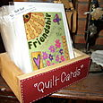 Quilt Cards Display Box