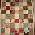 """Life Is A Patchwork Of Friends"" Lap Quilt"